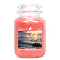Sunset Sparkle Goose Creek 24oz Scented Candle Jar