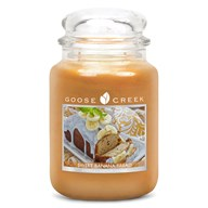Sweet Banana Bread Goose Creek 24oz Scented Candle Jar