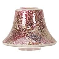 Candle Jar Lamp Shade - Raspberry Crush