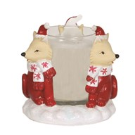 Fox Votive Holder 9cm