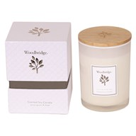 Woodbridge Lemon Grass & Sage Medium Soy Candle