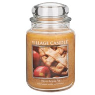 Warm Apple Pie Premium 26oz (1219g) Fragranced Candle Jar
