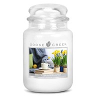 White Tea and Bergamot Goose Creek 24oz Scented Candle Jar
