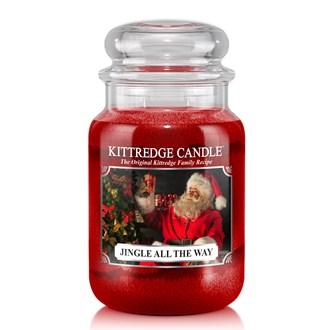 Jingle All The Way Kittredge 23oz Candle Jar