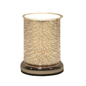 Cylinder 3D Electric Wax Melt Burner - Burst