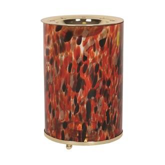Wax Melt Burner - Red Art Glass