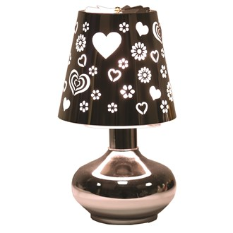 Electric Lamp Wax Melt Burner - Heart Carousel