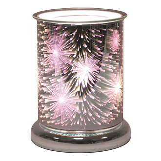 Cylinder 3D Electric Wax Melt Burner - Supanova