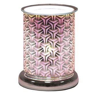Cylinder 3D Electric Wax Melt Burner - Tri Star