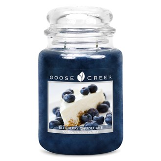 Blueberry Cheesecake Goose Creek 24oz Scented Candle Jar