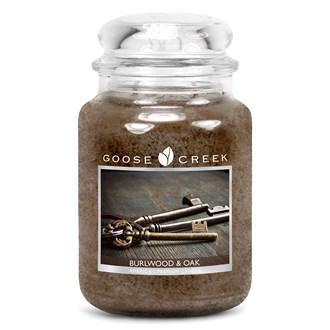Burlwood & Oak Goose Creek 24oz Scented Candle Jar