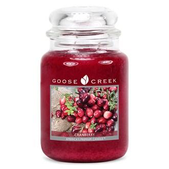 Cranberry Goose Creek 24oz Scented Candle Jar