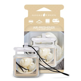 Dark Vanilla Bean Goose Creek Air Freshener