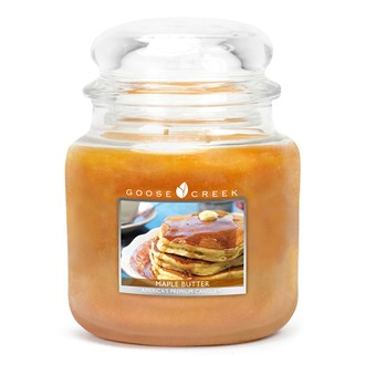 Maple Butter Goose Creek 16oz Scented Candle Jar