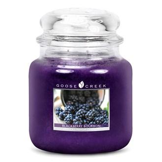 Blackberry Bourbon Goose Creek 16oz Scented Candle Jar