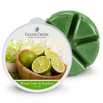 White Lime & Bamboo Goose Creek Scented Wax Melts