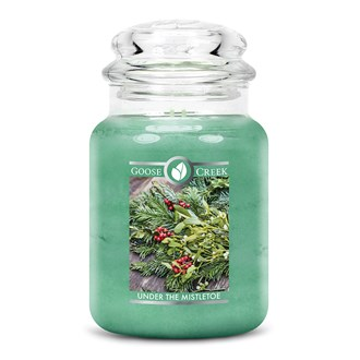 Under The Mistletoe Goose Creek 24oz Scented Candle Jar