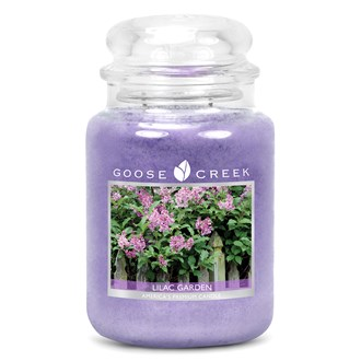 Lilac Garden Goose Creek 24oz Scented Candle Jar