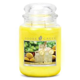 Old Time Lemonade Goose Creek 24 oz Scented Candle Jar