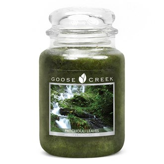 Patchouli Leaves Goose Creek 24oz Scented Candle Jar