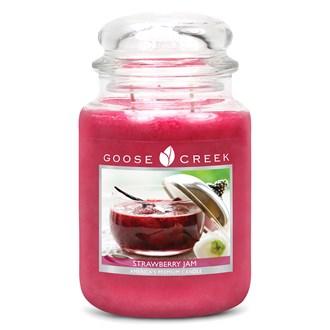 Strawberry Jam Goose Creek 24oz Scented Candle Jar