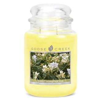 Sweet Honeysuckle Goose Creek 24oz Scented Candle Jar