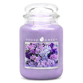 Sweet Pea Goose Creek 24oz Scented Candle Jar