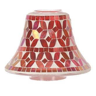 Cherry Lustre Candle Jar Lamp Shade 16cm