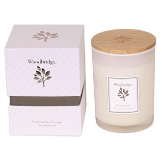 Woodbridge Pomegranate Medium Soy Candle