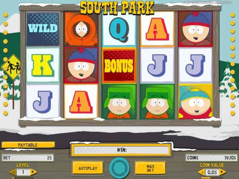 South Park kolikkopeli