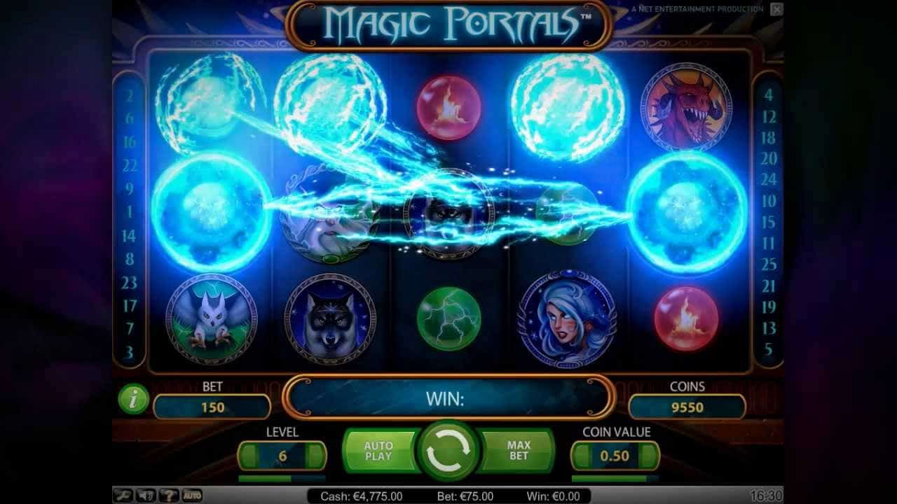 Magic Portals kolikkopeli
