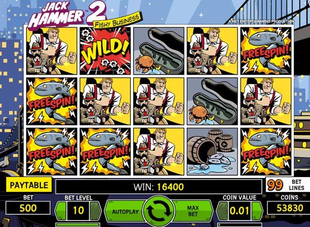 Jack Hammer 2 kolikkopeli