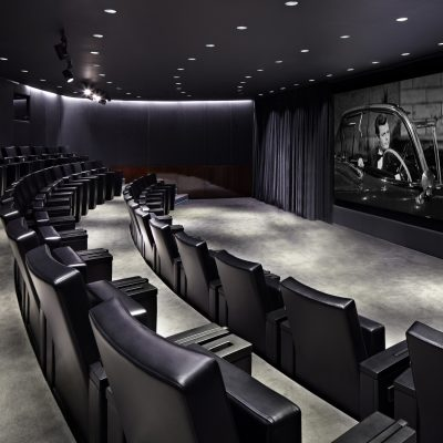 Bulgari Hotel | Venue Finding | Boxing Screening