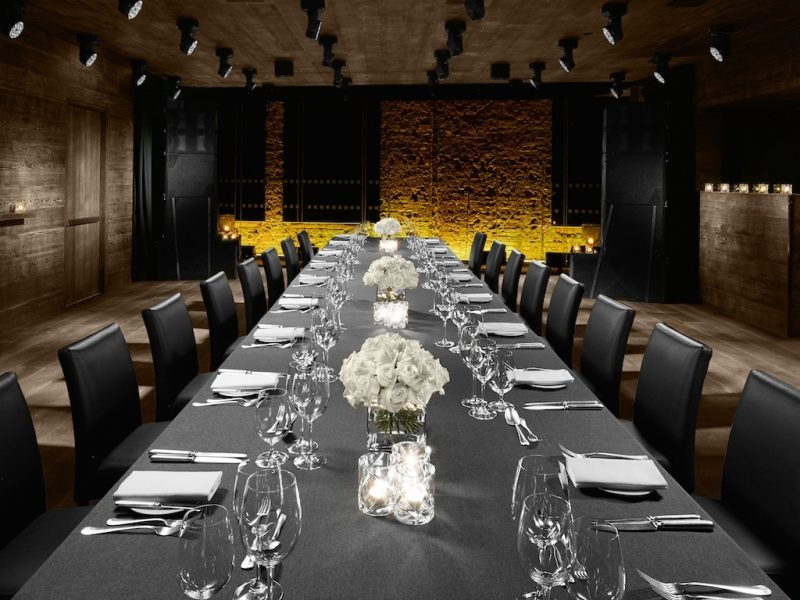 BASEMENT_Boardroom Dinner