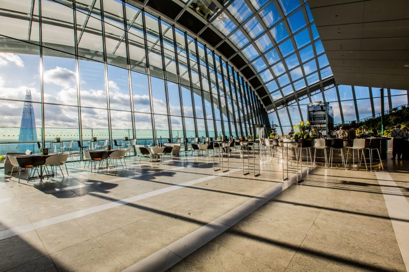 Iconic venues | Sky Garden | Venue Finding | Free Venue Finding Service | Venue Hire London | Group Private Dining | Event Management