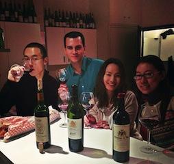 Kantonesisk mat och vin
