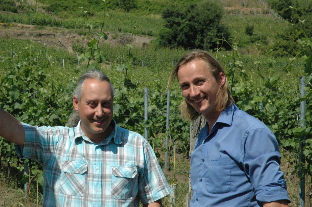 Vännerna Frédéric Fourré och Friederich Aust