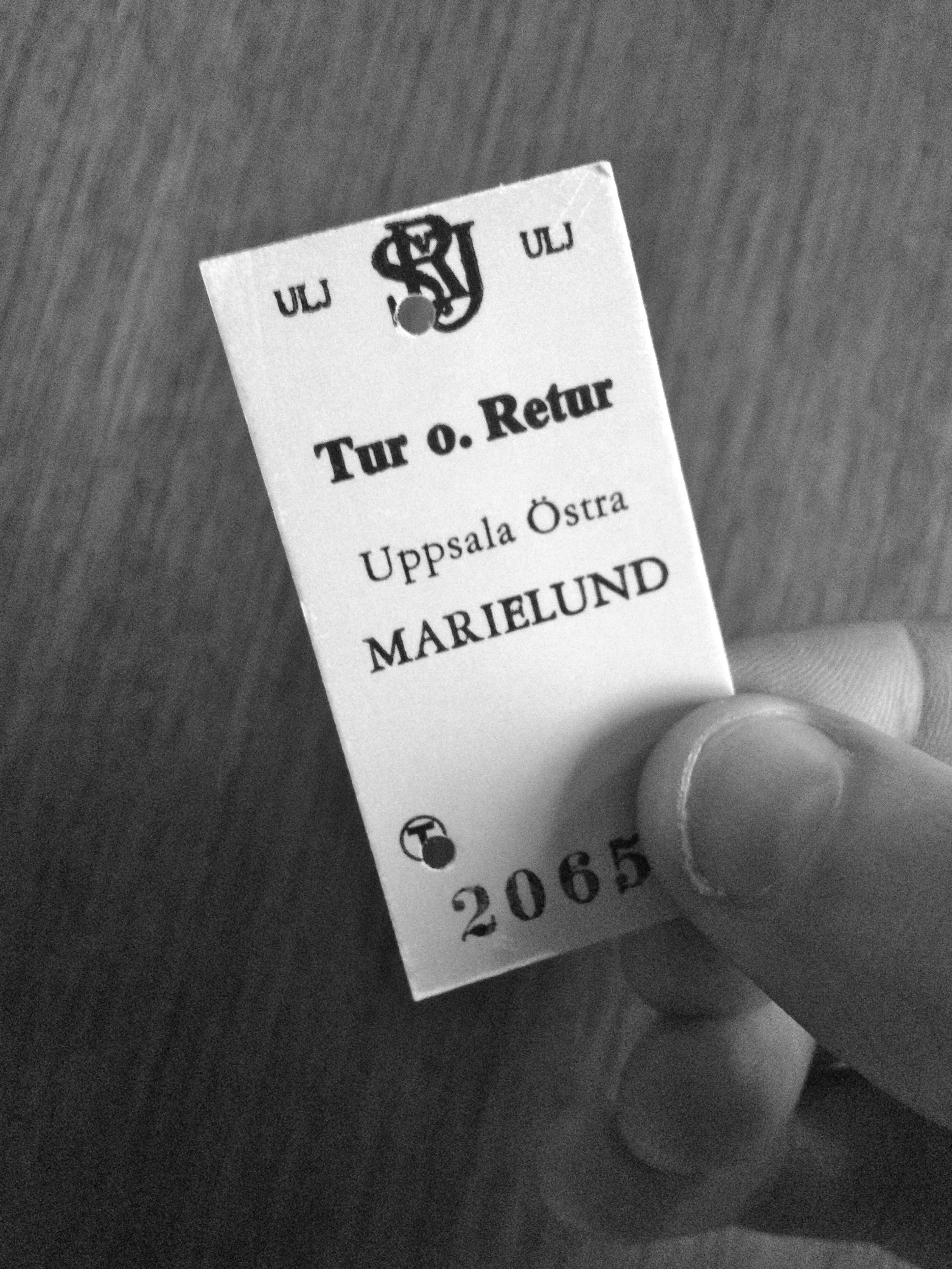 Biljett, Marielund