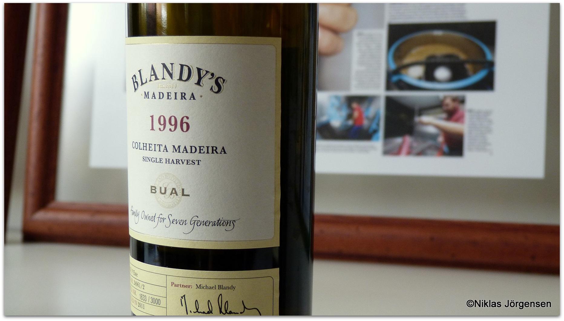 Blandy's 1996 Bual Colheita