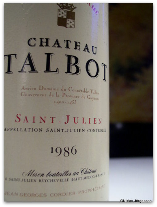 1986 Ch. Talbot