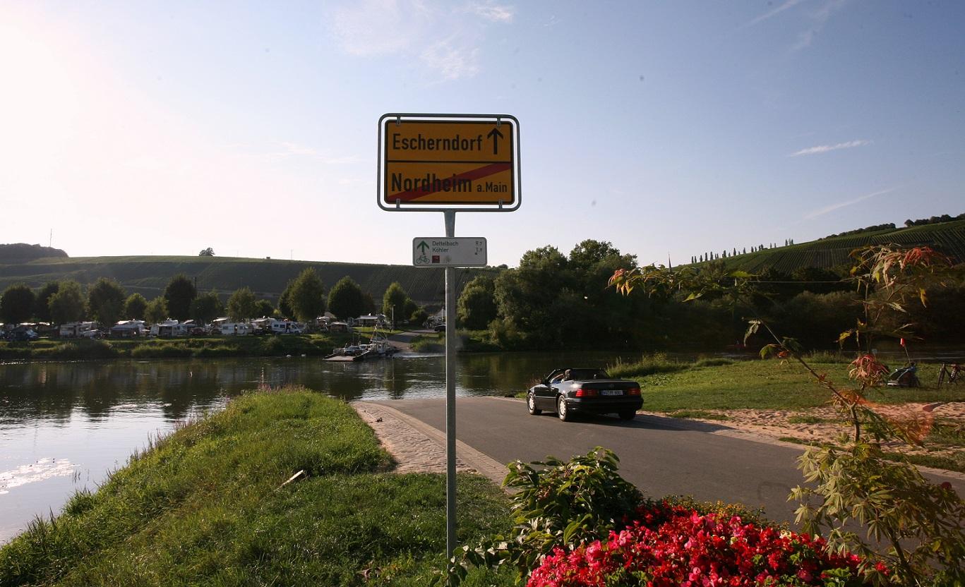 Floden Main, Escherndorf