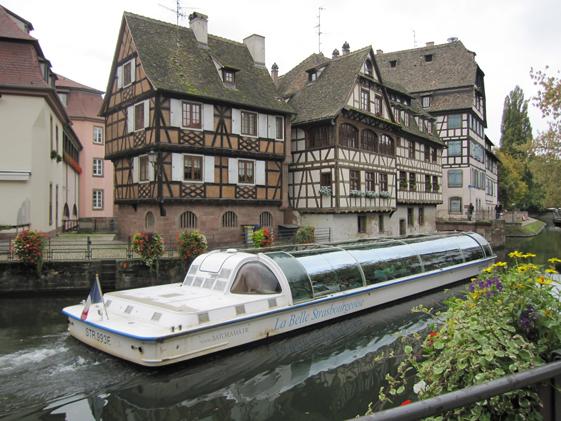 Vad sägs om en kanaltur i Strasbourg?