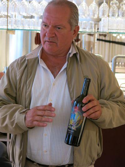 Domingos Soares Franco berättar om ett nytt vin, Magico, som lanseras under hösten.