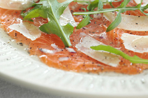 Lax-carpaccio
