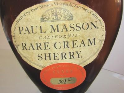 Paul Masson Rare Sherry