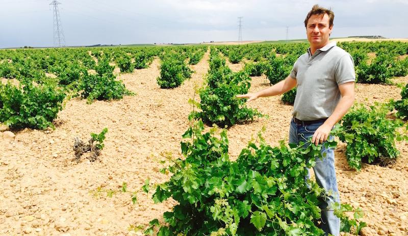 Luis Hurtado de Amézaga är andra generationens vinmakare i Rueda och likt sin far en direkt ättling till grundaren av Marqués de Riscal