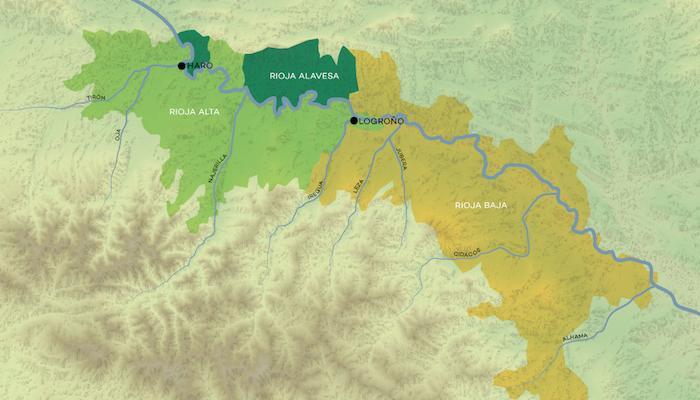 rioja-subregioner