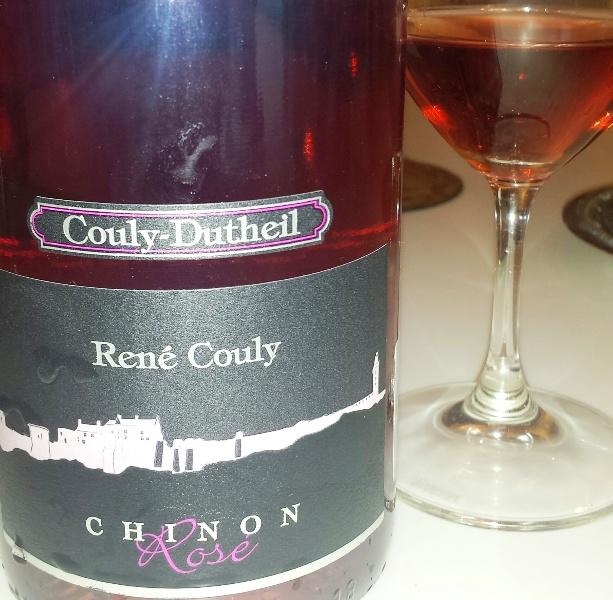 Couly-Dutheils rosévin är ett strålande bra rosévin