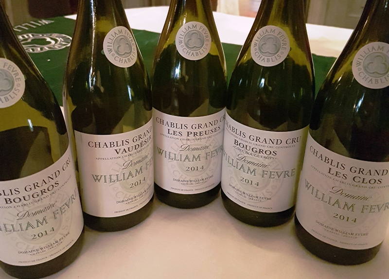 chablis argang 2014med william fevre