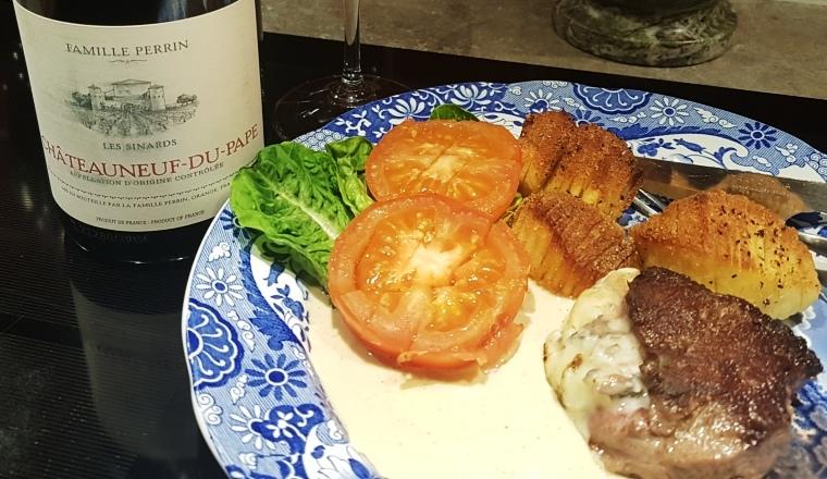 vin-och-mat-kombination-les-sinards-till-tournedos-gorgonzolasas-vinbanken